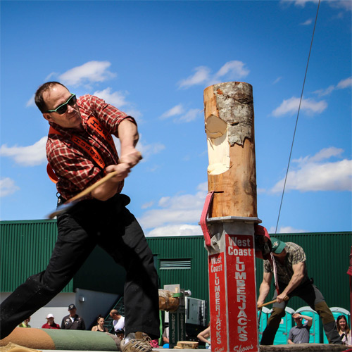 West Coast Lumberjack Show