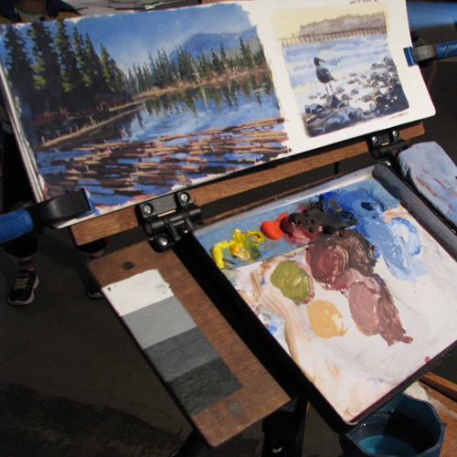The West Fine Art Show at the Cloverdale Rodeo
