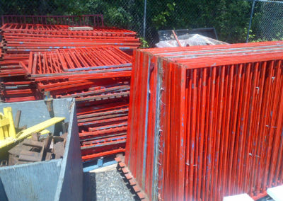Red-Steel-Fence