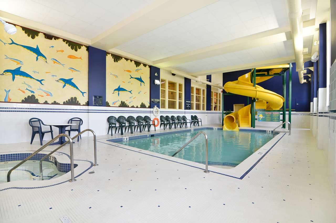 Indoor Pool and Slide